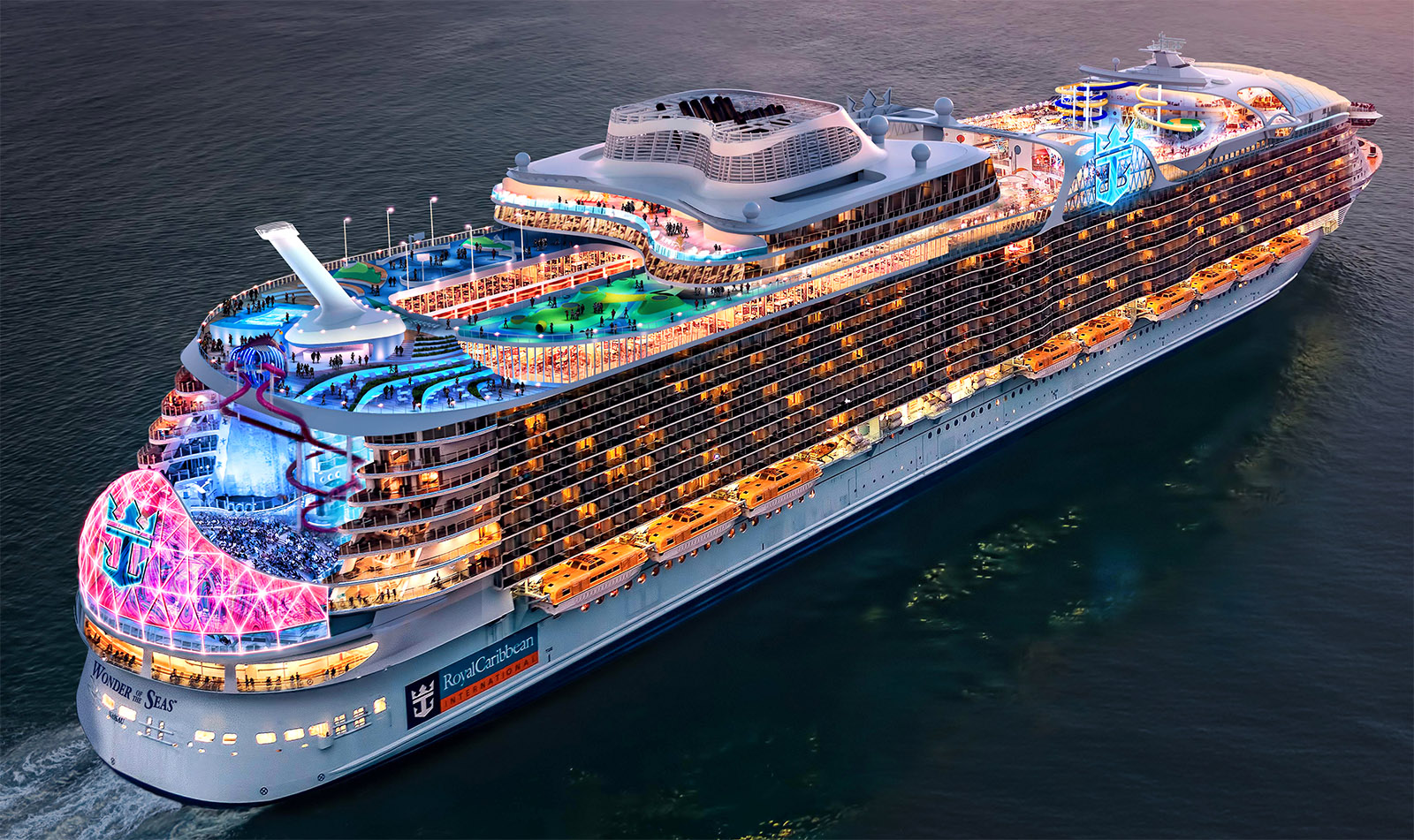 Royal Caribbean Announces World U0026 39 S Largest Cruise Ship To Sail From China In 2021