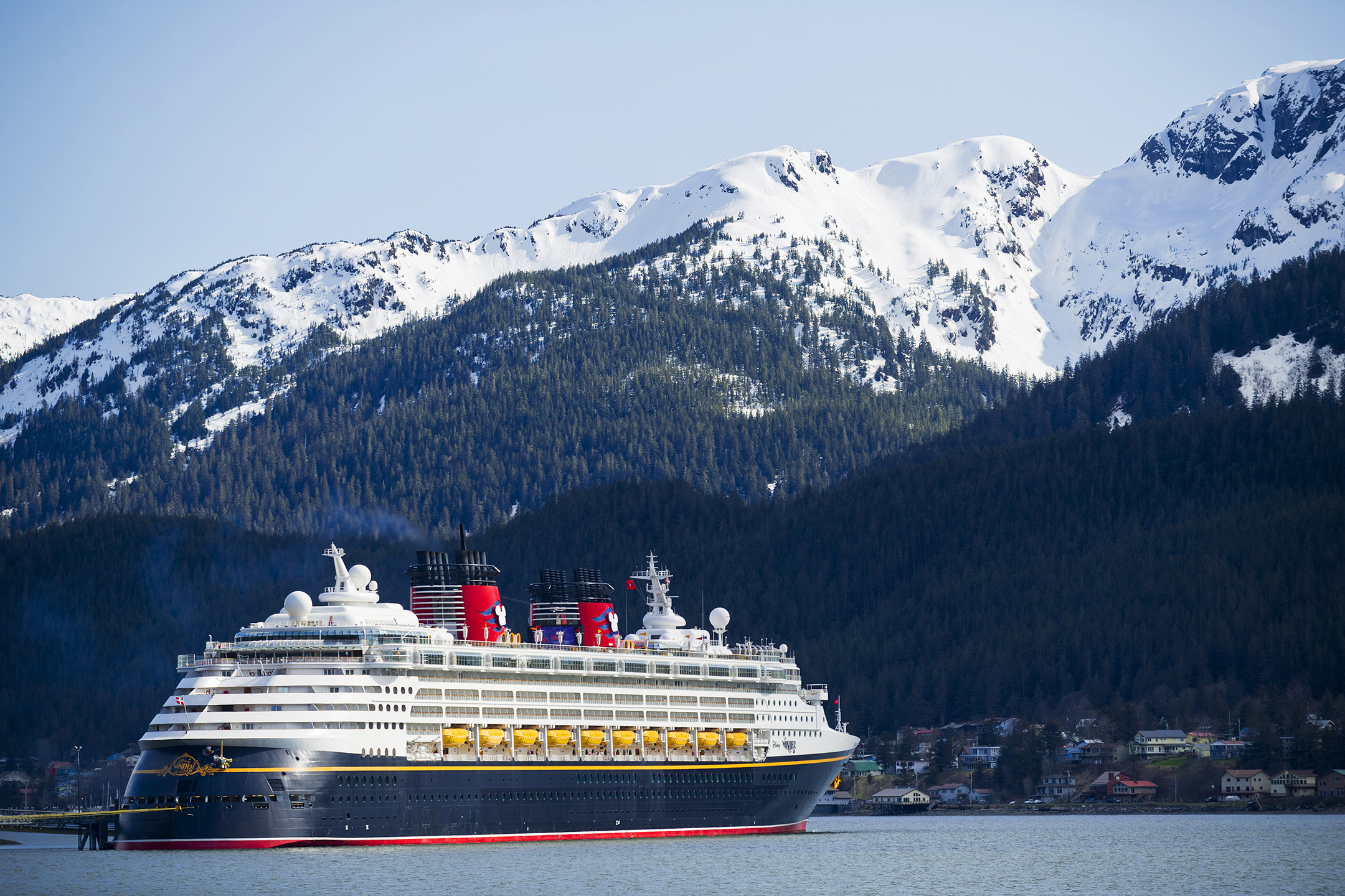 Disney ship in Alaska