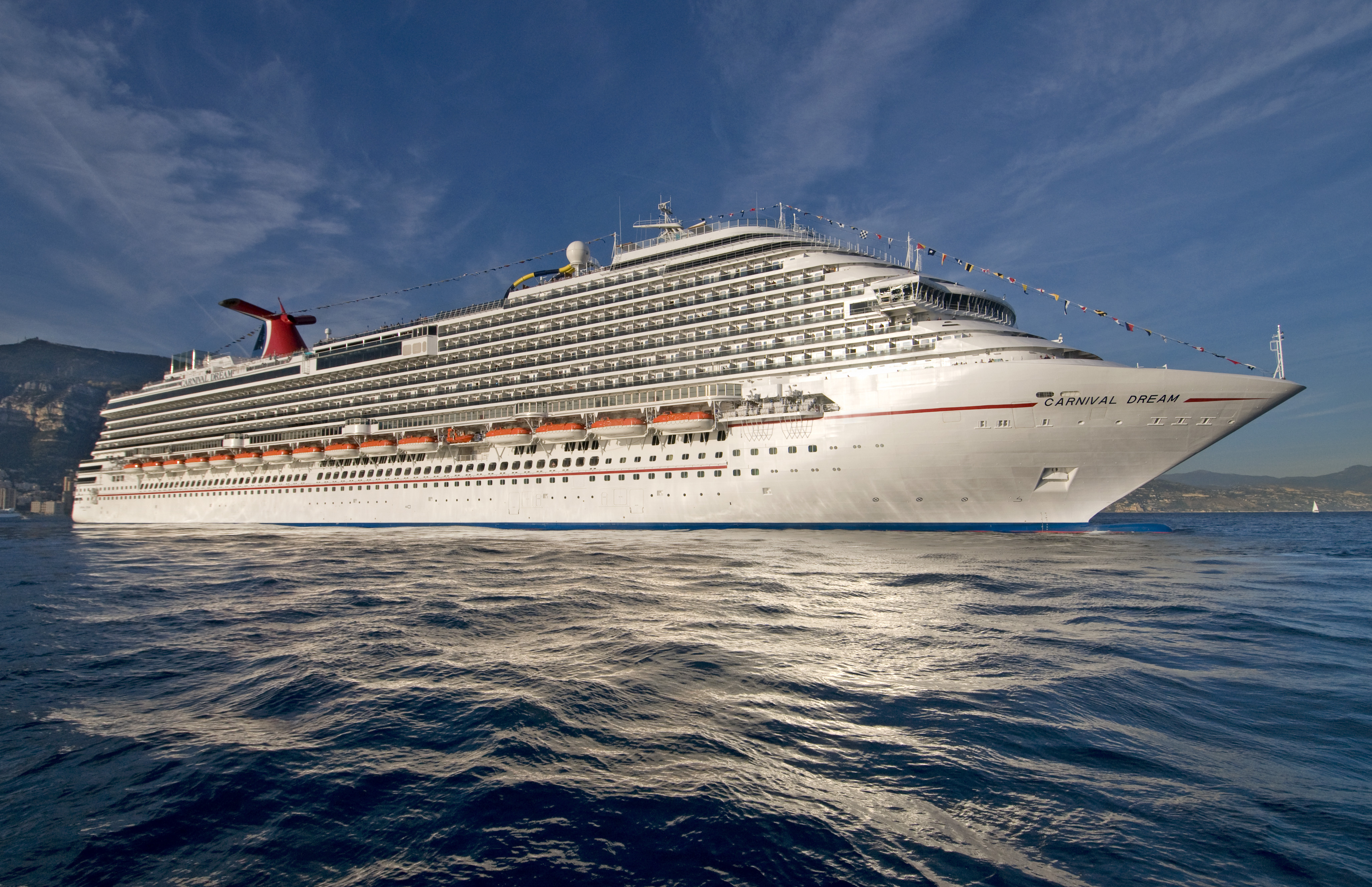 Carnival Dream at sea