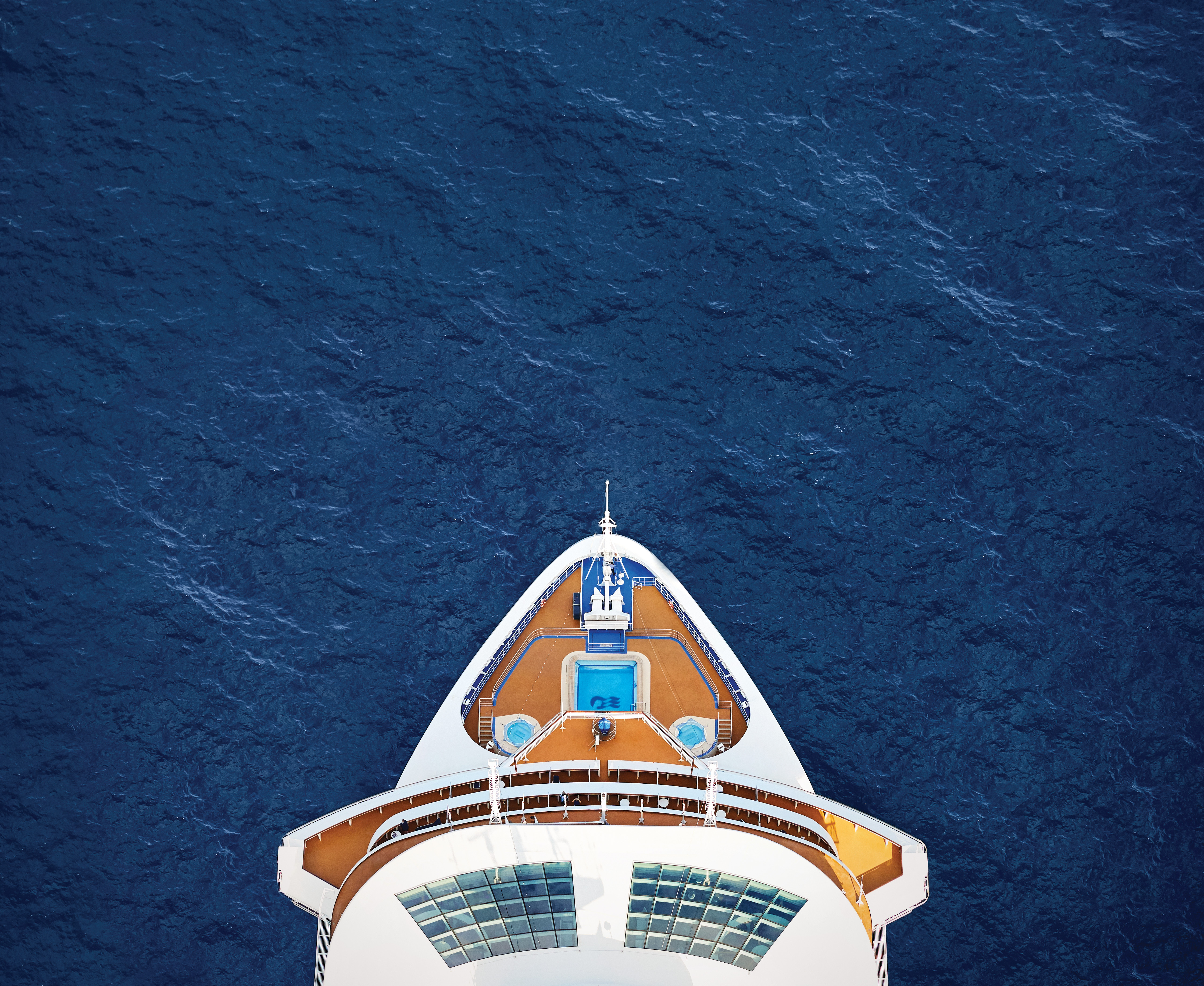 Majestic Princess aerial bow
