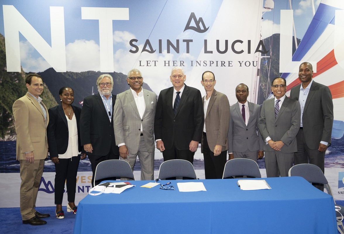 Carnival Corporation, Royal Caribbean and Government of St. Lucia Sign Memorandum of Understanding