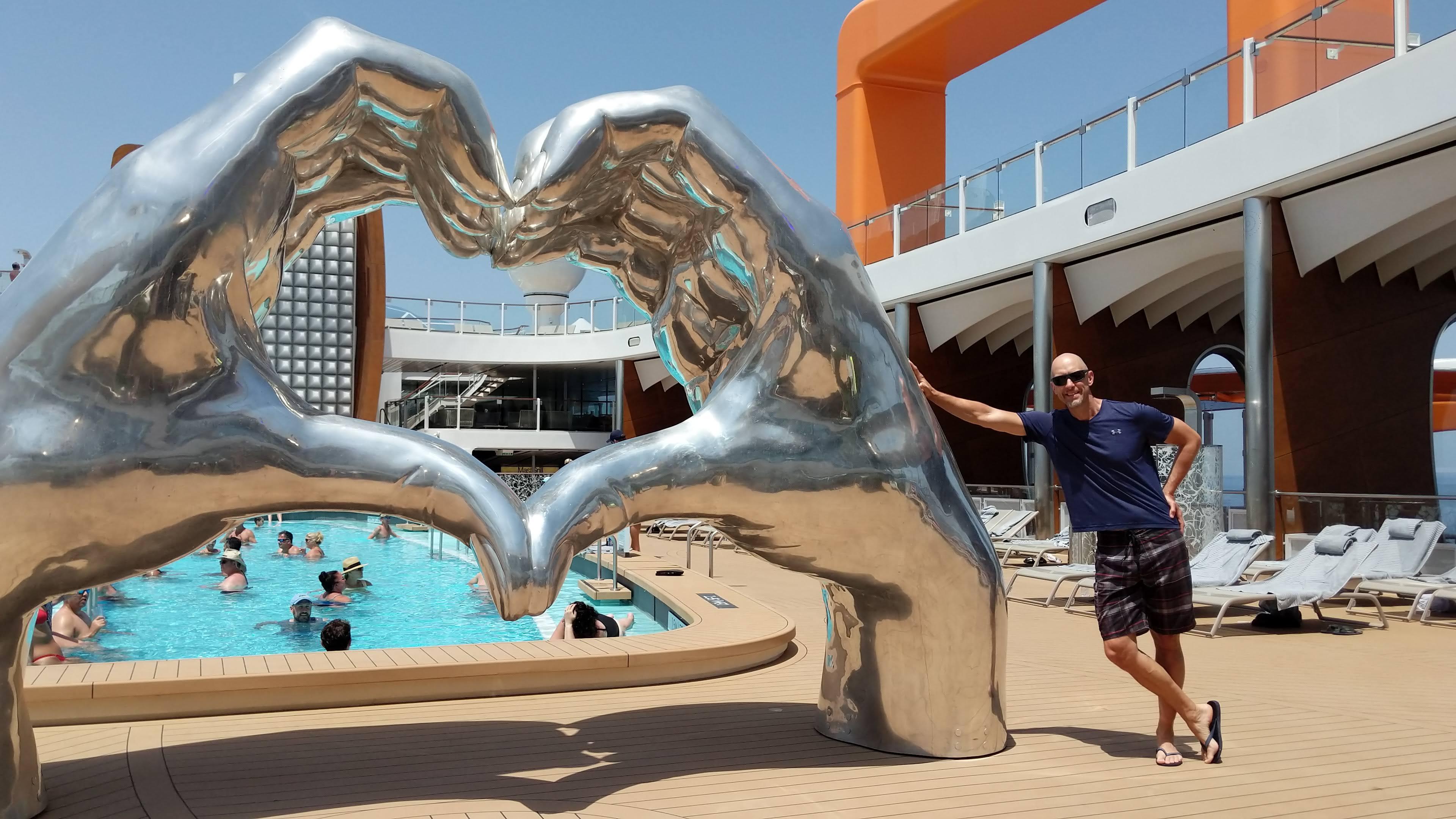 Celebrity Apex pool deck