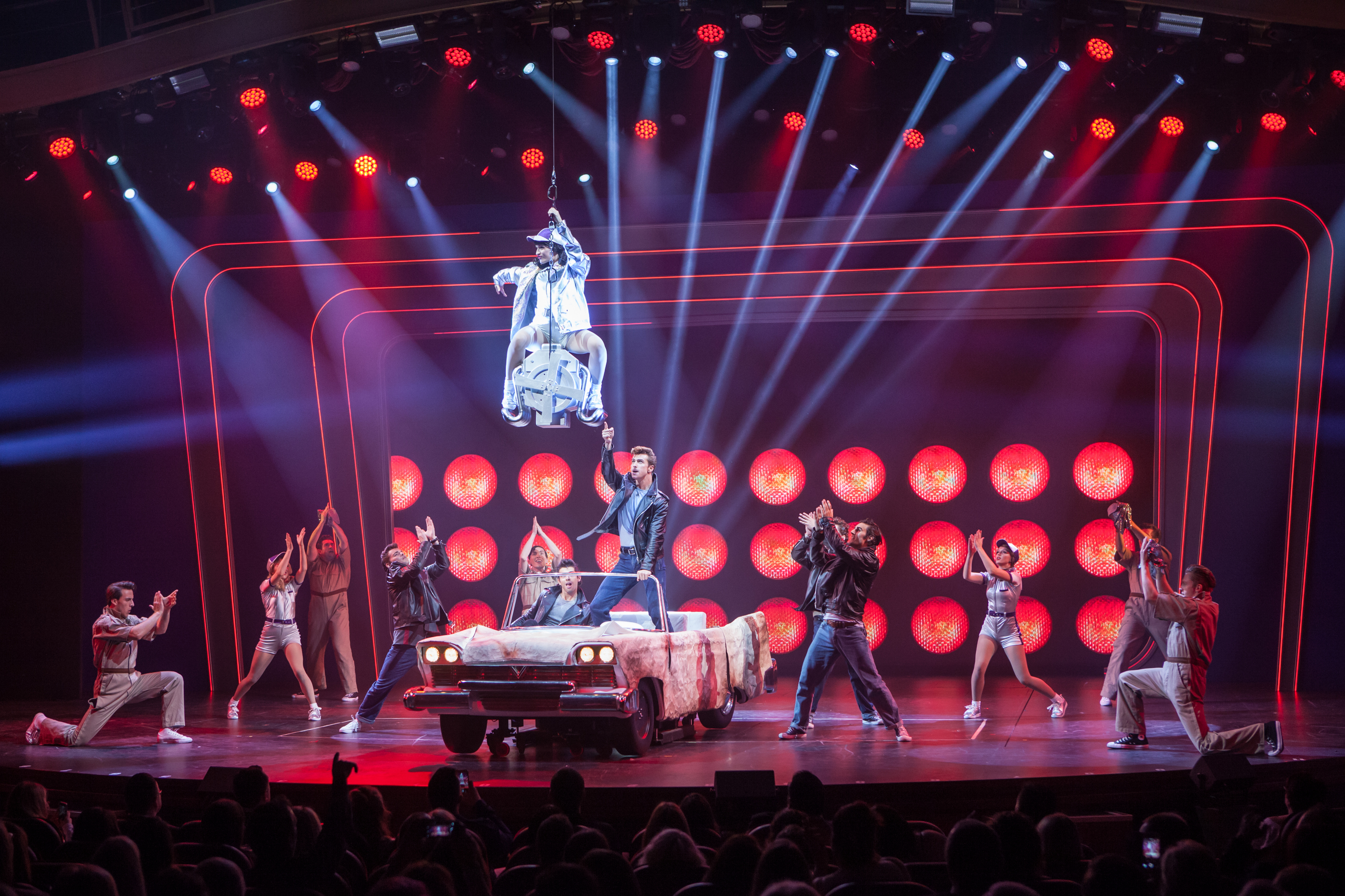 Broadway production of 'Grease' on Royal Caribbean's Harmony of the Seas (source: Royal Caribbean)