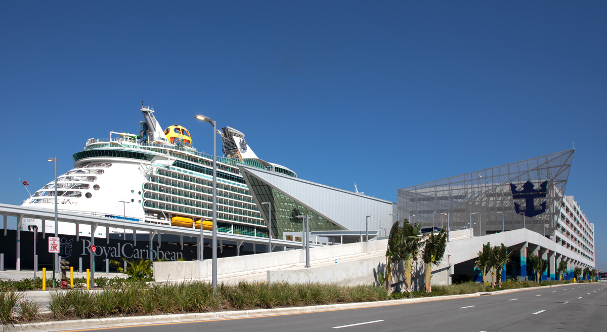 Mariner of the Seas terminal A