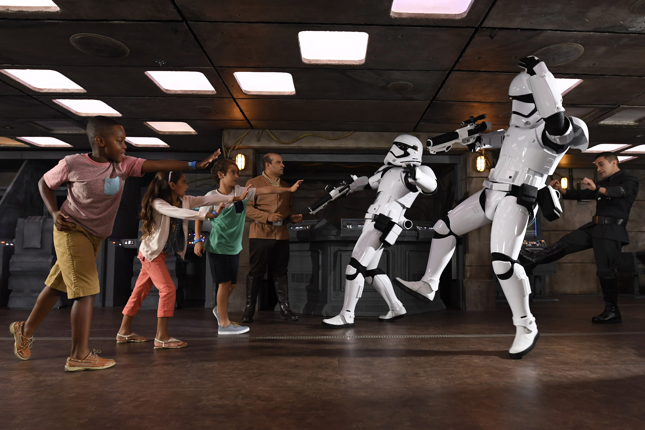 The Force is strong on Star Wars Day at Sea