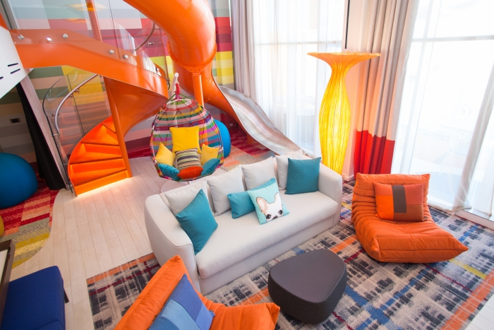 Ultimate Family Suite on Royal Caribbean's Symphony of the Seas (source: Royal Caribbean)
