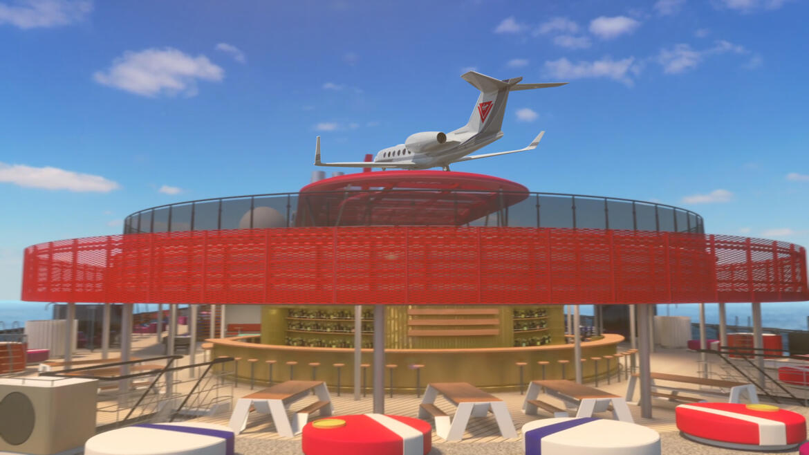Private Jet Transfer Available for RockStar Suites Sailors on Virgin Voyages' Second Ship Set To Sail in 2021