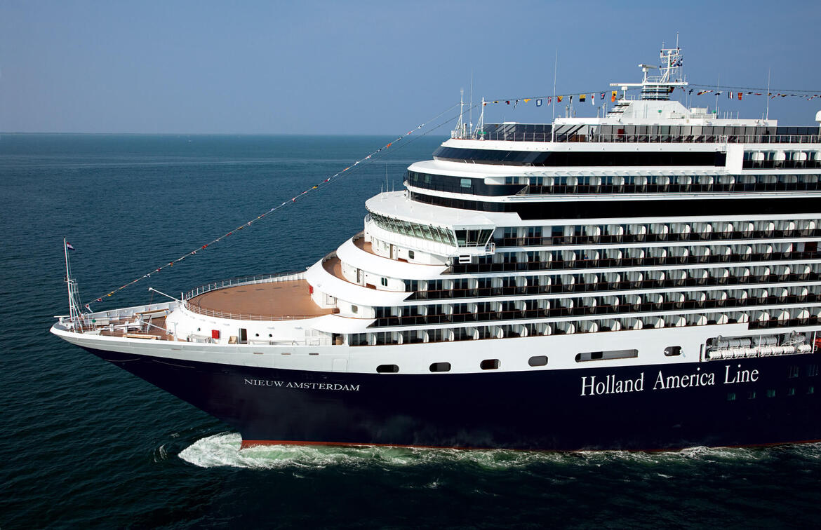 Holland America cancels Nieuw Amsterdam sailing for propulsion repairs