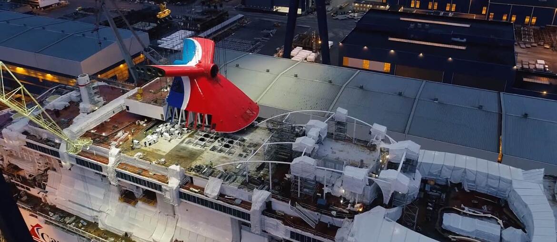 Carnival Mardi Gras Has Funnel Added Cruise Blog