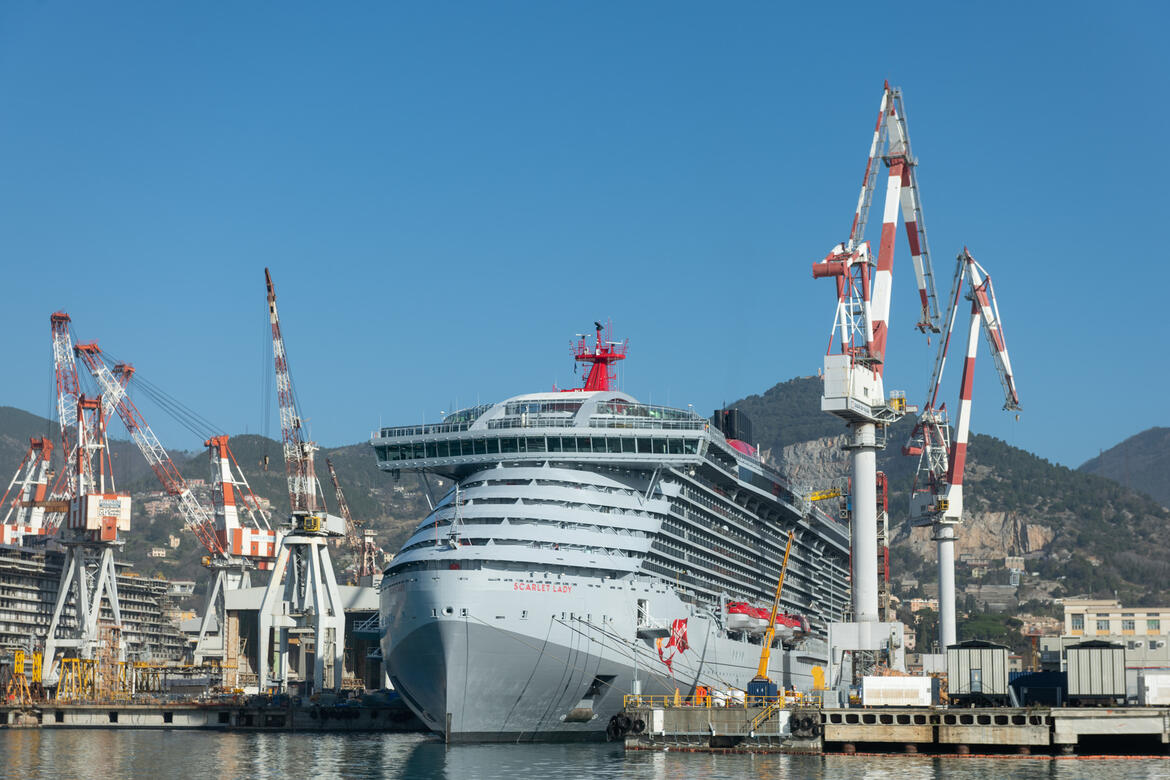 Fincantieri Delivers Virgin Voyages' First Cruise Ship