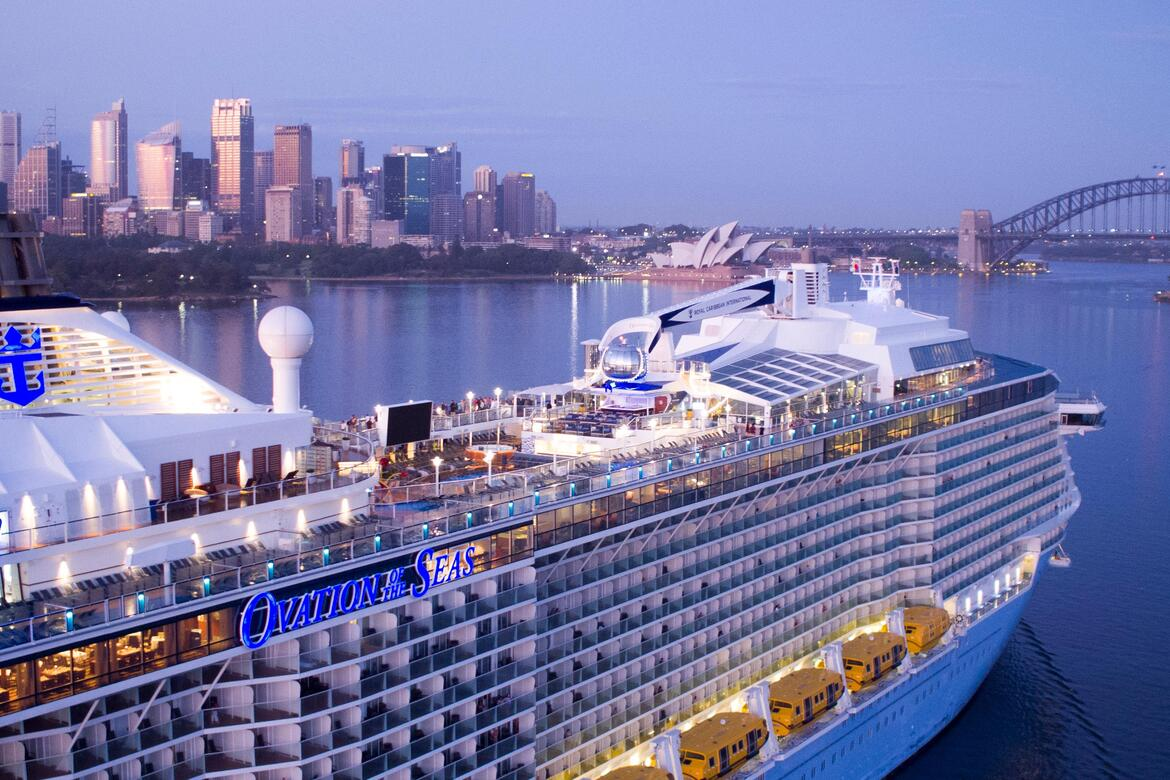 Royal Caribbean Announces Global Suspension Of Cruising