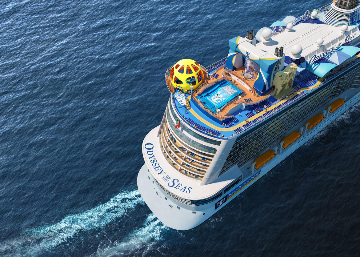 Odyssey of the Seas Cruise Ship Debut Pushed Back To April 2021