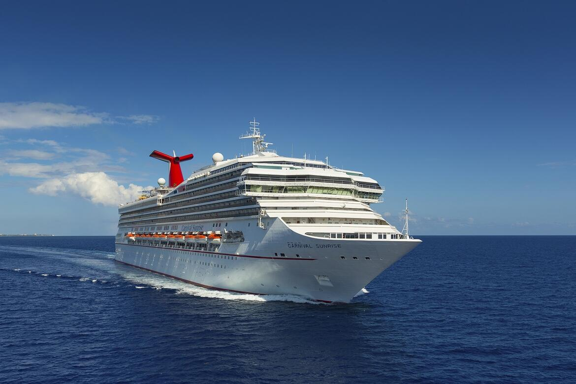 Carnival Sunrise will move from Port Everglades to PortMiami