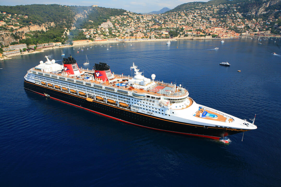Disney Magic in Villefranche