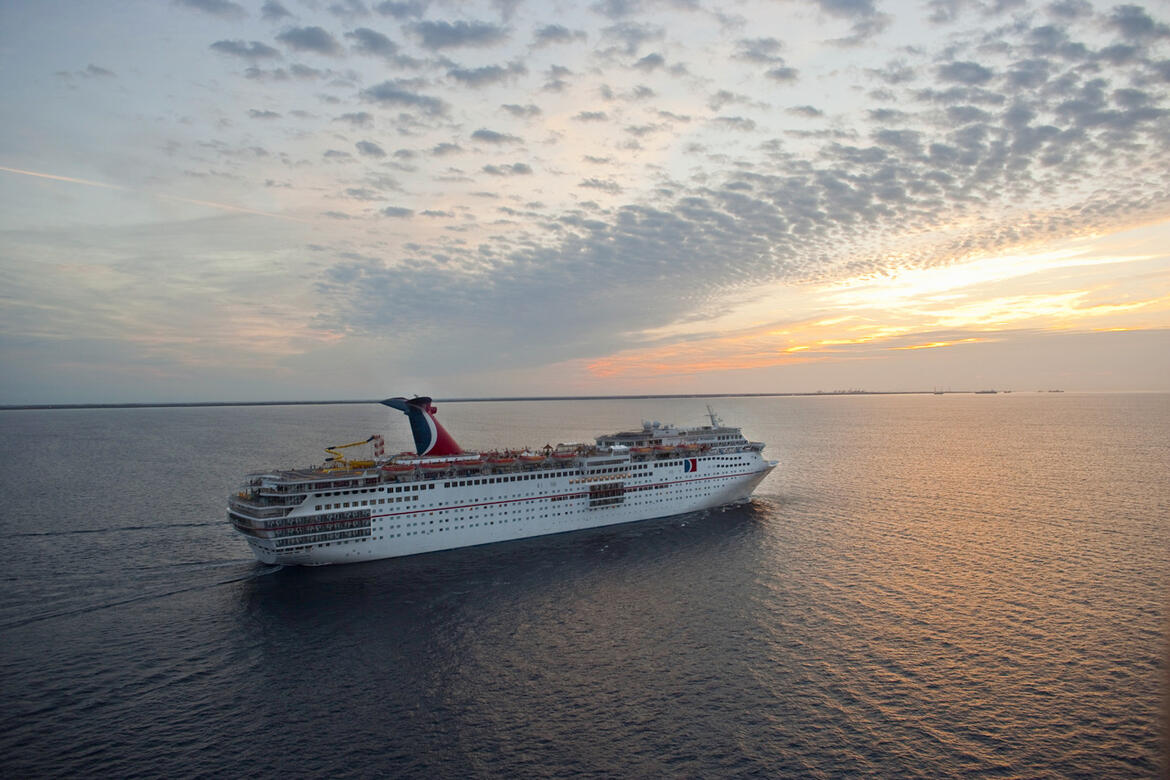 Carnival Fascination is one of two ships that Carnival announced it will sell