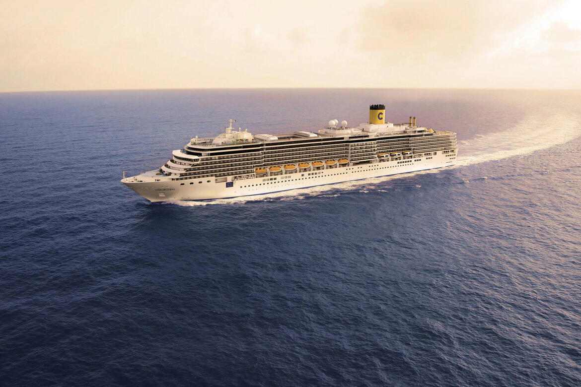 Costa Deliziosa will be the first Costa Cruises ship to start sailing