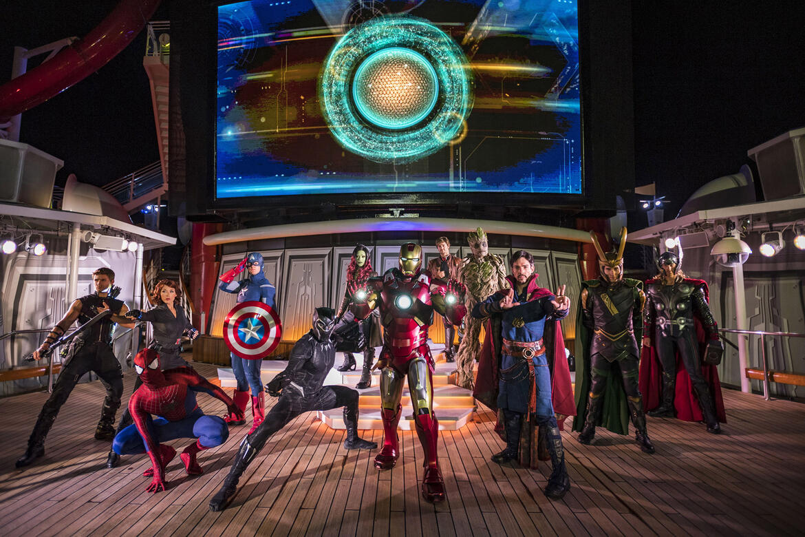 Disney Marvel Day at Sea will be back in 2022