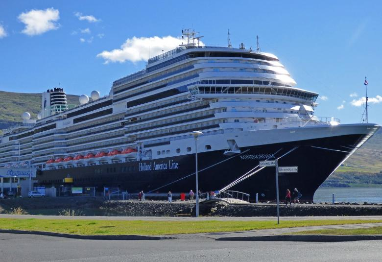 Holland America Koningsdam cruise ship