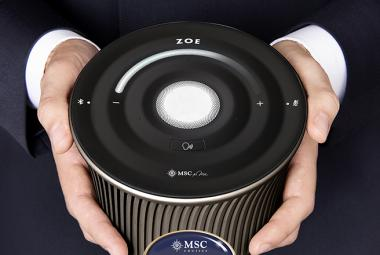 MSC Cruises ZOE virtual personal cruise assistant powered by artificial intelligence