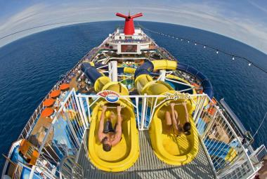 Waterslides on Carnival Dream
