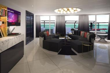 Massive Suite Living Room