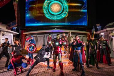 Marvel Day at Sea on the Disney Magic
