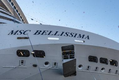 MSC Bellissima has become the fourth ship to join MSC Cruises' fleet
