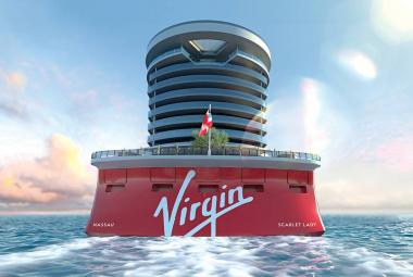 Outdoor areas on Virgin's first cruise ship highlighted in new video