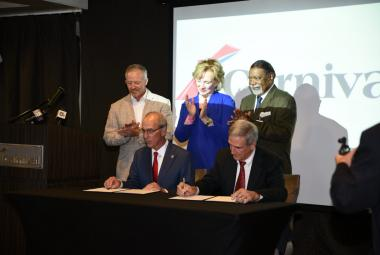Carnival Cruise Line Signs Three-Year Extension with City of Mobile