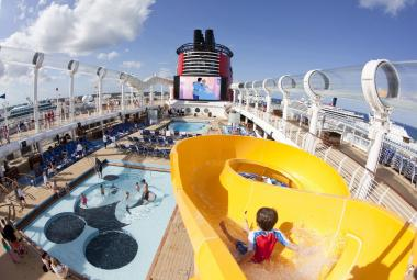 AquaDuck Water Coaster on Disney Cruise Line