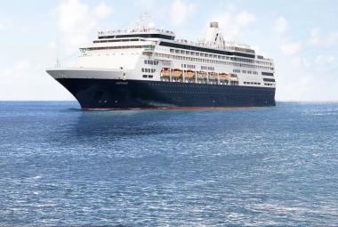 The Veendam cruise ship