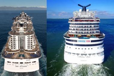MSC Cruises vs Carnival Cruises