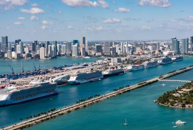 PortMiami aerial photo