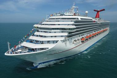 Carnival Glory aerial