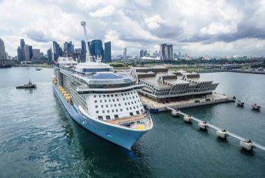 Quantum of the Seas in Singapore